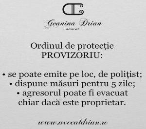 avocat ordin de protectie