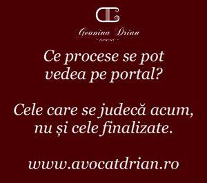 portalul instantelor de judecata